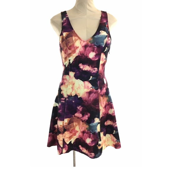 96f61f76ef1 Abercrombie & Fitch Dresses   Abercrombie Fitch Printed Scuba Skater ...